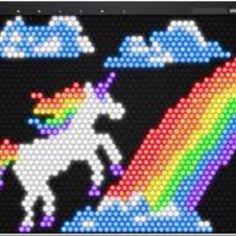 Bright Bright App is a Virtual Lite-Brite Game for the iPad Lite Brite, Sprites, Last Unicorn, Hunting Gifts, You Draw, My Childhood Memories, Rainbow Unicorn, Rainbow Colors, Gift Guide