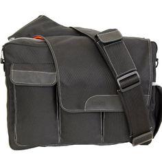 Amazon.com: Diaper Dude Messenger II Diaper Bag, Black: Baby