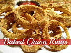 South Your Mouth: Baked Onion Rings