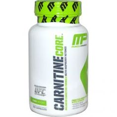Muscle Pharm, Carnitine Core, 60 Capsules, Diet Suplements 蛇