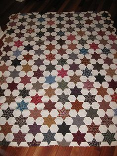 1000 Images About Hexagons And Six Pointed Star Quilts