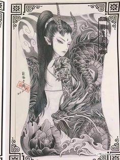 Small Japanese Tattoo, Japanese Tattoo Meanings, Japanese Tattoo Designs, Japanese Sleeve Tattoos, Anime Tattoos, Body Art Tattoos, Crow Tattoos, Phoenix Tattoos, Ear Tattoos