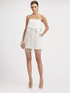 Cute bridesmaid dress... or maybe bride's rehearsal dinner/bridal shower dress?