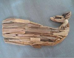 Custom Listing for Candace - Driftwood Whale Wall Mosaic Sculpture, Driftwood Wall Hanging Art, Driftwood Decor, Beach Home Decor