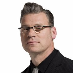 mark kermode  .Best hair in the business and the brain inside it is damned fine too.