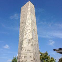 Der neue Kirchturm