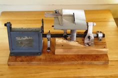 Black and Decker Drill powered hobby saw Vintage for the collector or Hobbyist Antique Tools, Old Tools, The Collector, Drill, Desktop, Antiques, Ebay, Vintage, Black