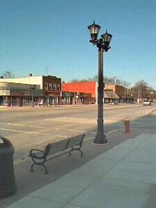 Gladwin, Michigan ... this is downtown Gladwin ... a place I went to at least once a month as a kid to see my Gramma Bernie - I LOVE this town ...