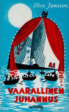 1954 Vaarallinen juhannus, neljäs kirja Muumi-sarjassa, julkaistaan. Pääteema kirjassa on teatteri, jota kuvataan raivostuttavaksi, mutta lopulta palkitsevaksi prosessiksi.