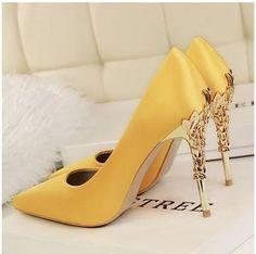 88f5f544aab9 Fashion Women s High Heels Shoes With Thin Metal Stilettos