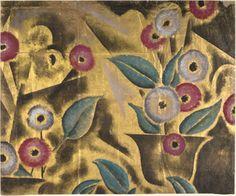 Paper, Foil Wallcovering Design, 1930s