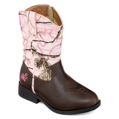 a000778a47a0 Realtree™ Dusty Western Cowgirl Boots – Little Kids Big Kids found at   JCPenney