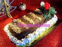 PASTEL NAVIDEÑO DE TURRÓN Y CHOCOLATE THERMOMIX TM31 ← thermo fussion cook