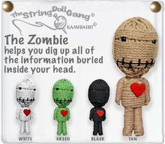 String dolls - Zombies!