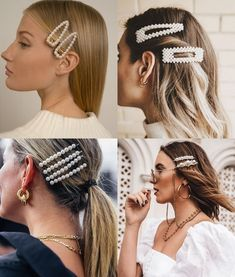 Want to know more about how to braids on yourself - Uñas Coffing Maquillaje Peinados Tutoriales de cabello Bobby Pin Hairstyles, Braided Hairstyles, French Twist Hair, Grunge Hair, Hair Barrettes, Hair Trends, Hair Pins, Hair Inspiration, Curly Hair Styles