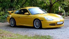 Porsche 911 996 mk1 3.4 - Aerokit GT3 - Yellow Speed