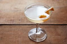French 52: white wine syrup