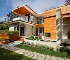 contemporary container house par Architect Heather Johnston - La Jolla, Californie, USA