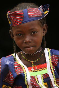 Africa | Fulani girl in Niger | ©imb.org