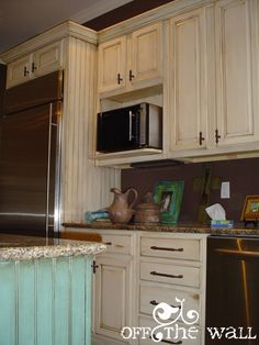 My Faux Side – Painted Kitchen Cabinets