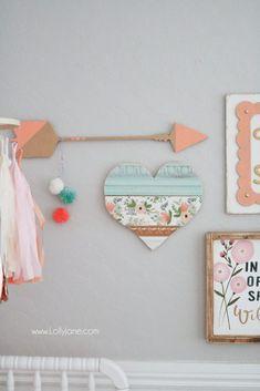 Cute Baby Girl Nursery GALLERY WALL Ideas!