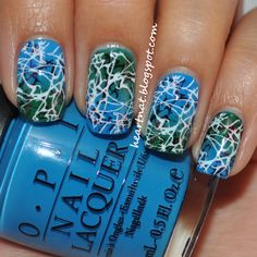 heartNAT: 31 Day Nail Challenge--Day 27: Inspired by Artwork