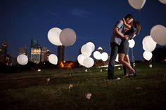 night time engagement shoot - Google Search