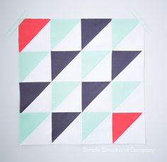 Midnight Ride Block Pattern | FaveQuilts.com