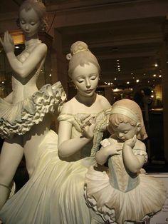 """Love for Ballet"" Lladro (Harrods) by StacyLogan, via Flickr"