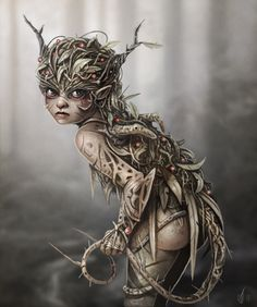 A Bramble Pixie - by Sally Jackson.