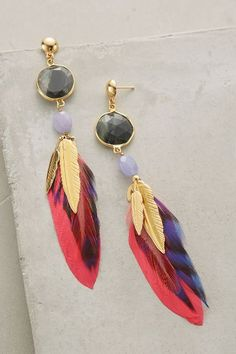 Brightwing Earrings - anthropologie.com #anthroregistry