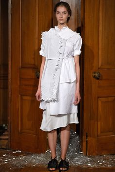 See the Phoebe English spring/summer 2016 collection. Click through for full gallery at vogue.co.uk