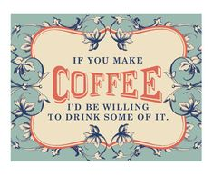 coffee! yes please!