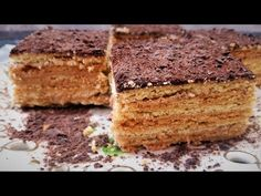 "Армянский торт ""Микадо"" - обалденный торт -Ани Кухня! - YouTube"