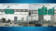 Never panic about which side the exit is on again.   29 Simple Road Trip Hacks You Need To Know