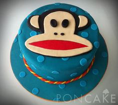 Paul Frank Cake - Torta de Paul Frank- have to try this xoxo