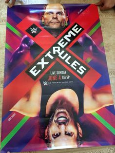 Wrestling 2902: Extreme Rules 2017 The Hardy Boys Matt Jeff Wwe Official 27X40 Poster Brand New -> BUY IT NOW ONLY: $54.99 on eBay!