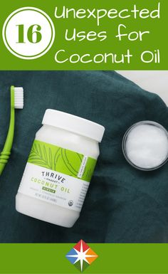 It's not just for cooking--discover 16 unexpected ways to use coconut oil. From recipes to natural beauty products, you can get this healthy product into your life every day!