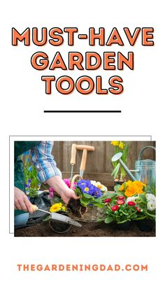 If you want a better garden then having the right Garden Tools is key for success. Learn about 44 Must-Have Garden Tools for plants, herbs, vegetables, fruit, flowers, and succulents. #garden #tools #gardening Vegetable Garden For Beginners, Gardening For Beginners, Gardening Tools, Organic Gardening, Succulents Garden, Garden Plants, Amazing Gardens, Beautiful Gardens, Homestead Gardens