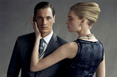 Banana Republic even recently launched a new Mad Men collection Black Dragon, Gorgeous Women, Beautiful, Love Poems, Men's Collection, Mad Men, Men And Women, Formal Wear, Techno
