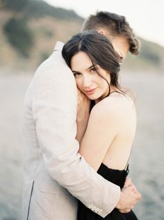 Meghan Mehan Fine Art Photography - Elk, California - Beach Engagement_Jillian…
