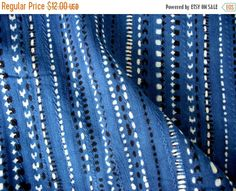 Flat 25% Off Hand loom Kantha Weave Geometric by theDelhiStore