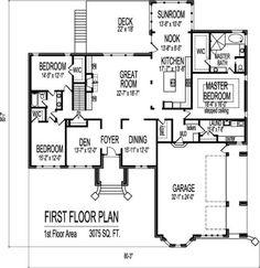 10-plantas de casas 3 quartos modelos