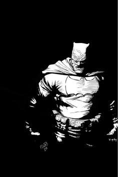 Batman - Dark Knight Returns by Flavio Silva