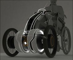 Four wheel Vehicle Hand powered for Faster Skates and Paraplegic Moving Out