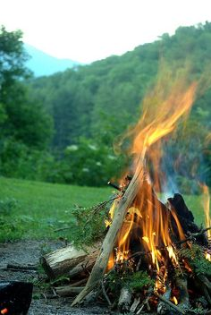 go camping and light a campfire Go Camping, Outdoor Camping, Outdoor Fire, Beltane, Espanto, Outdoor Activities, The Great Outdoors, Trekking, Wilderness