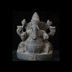 $200 : Indian stone statue of Ganesha