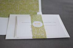 "Our Wedding: DIY ""Letterpress"" Wedding Invitations | Modernly Wed"