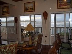 Huge Oceanfront Lanai - Breathtaking Views!Vacation Rental in Laie from @HomeAway! #vacation #rental #travel #homeaway