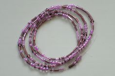 Bead String. Lavender Mix £0.79